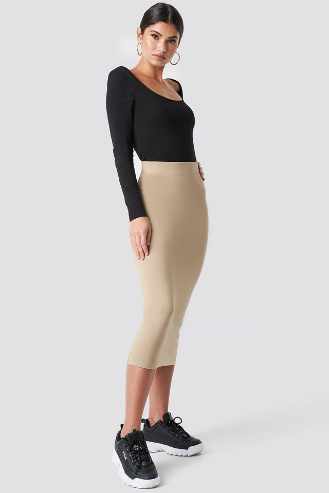 Black & Beige Outfit