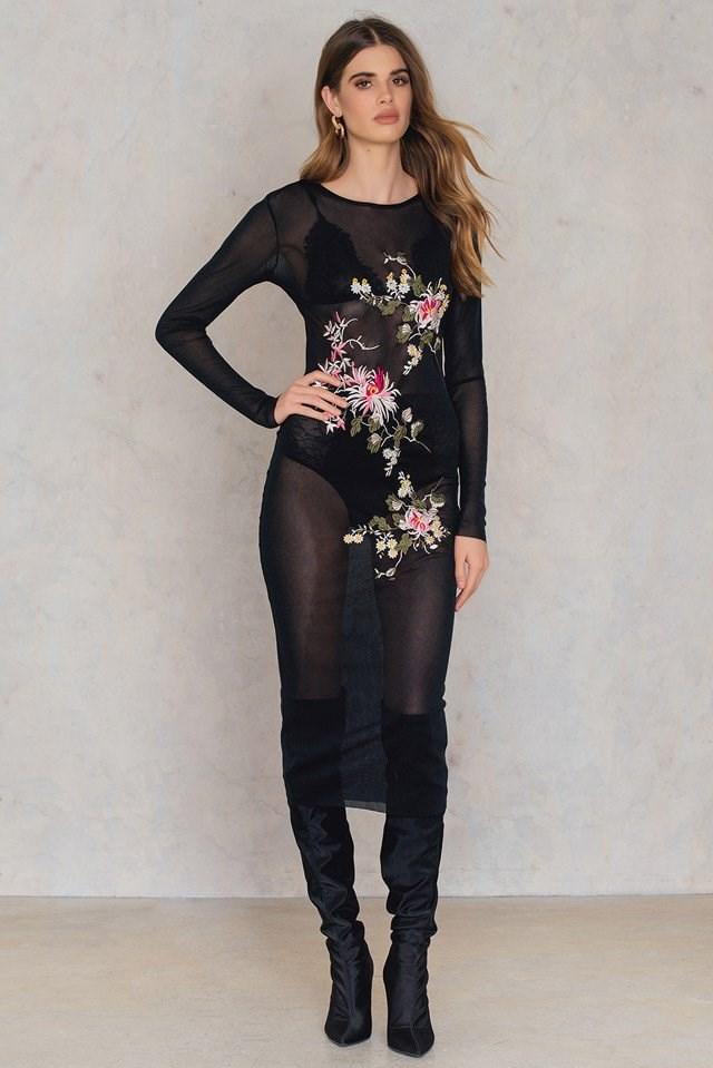 Transparent Bodycon Dress