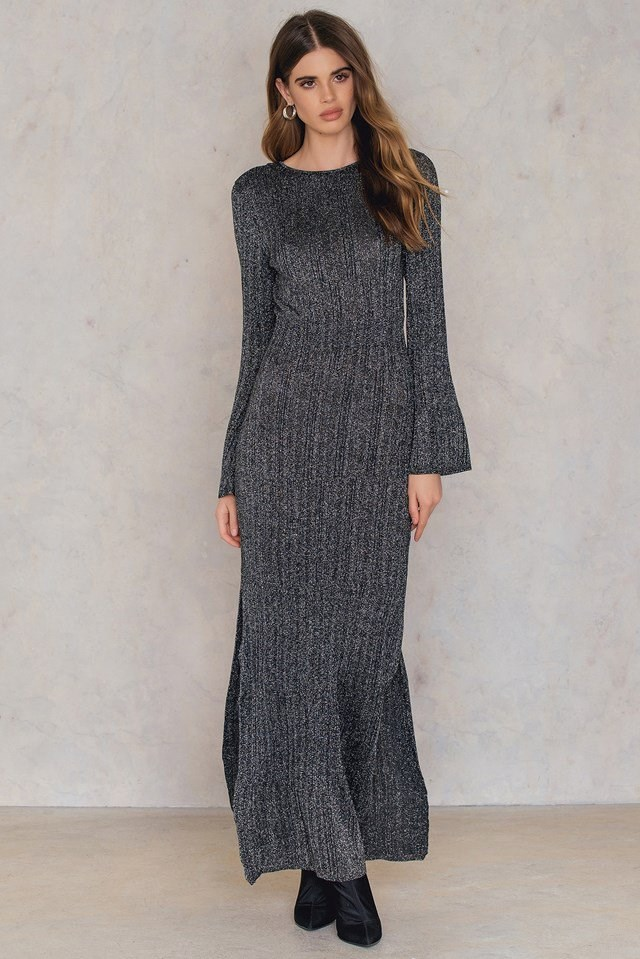 Knitted Maxi Dress Outfit