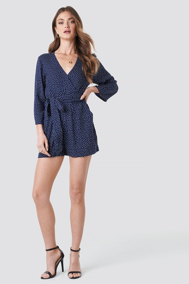 Wrap Playsuit Outfit.