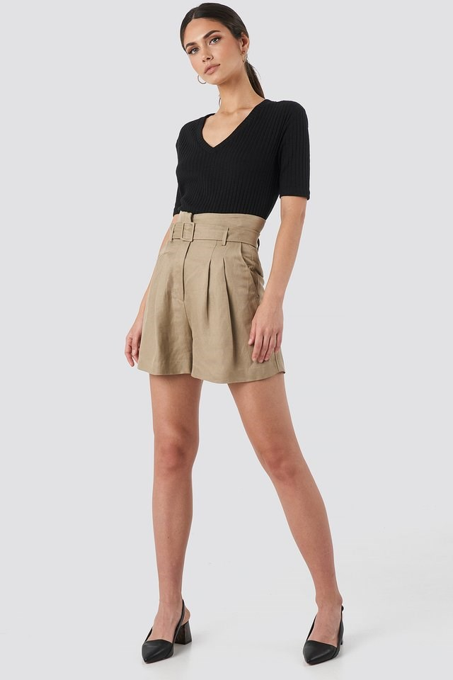 Evita Shorts Outfit.
