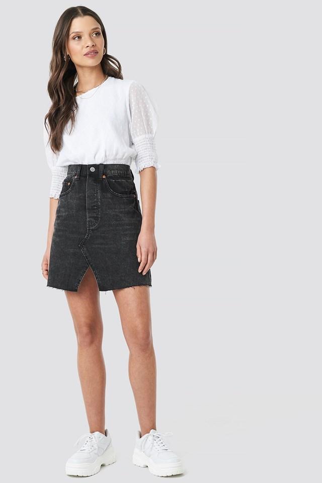 Shrunken Skirt Outfit.