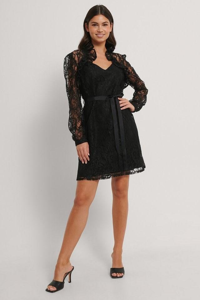 Black Tangerine Dress