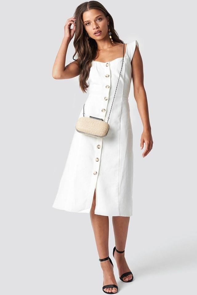 White Midi Dress Outfit
