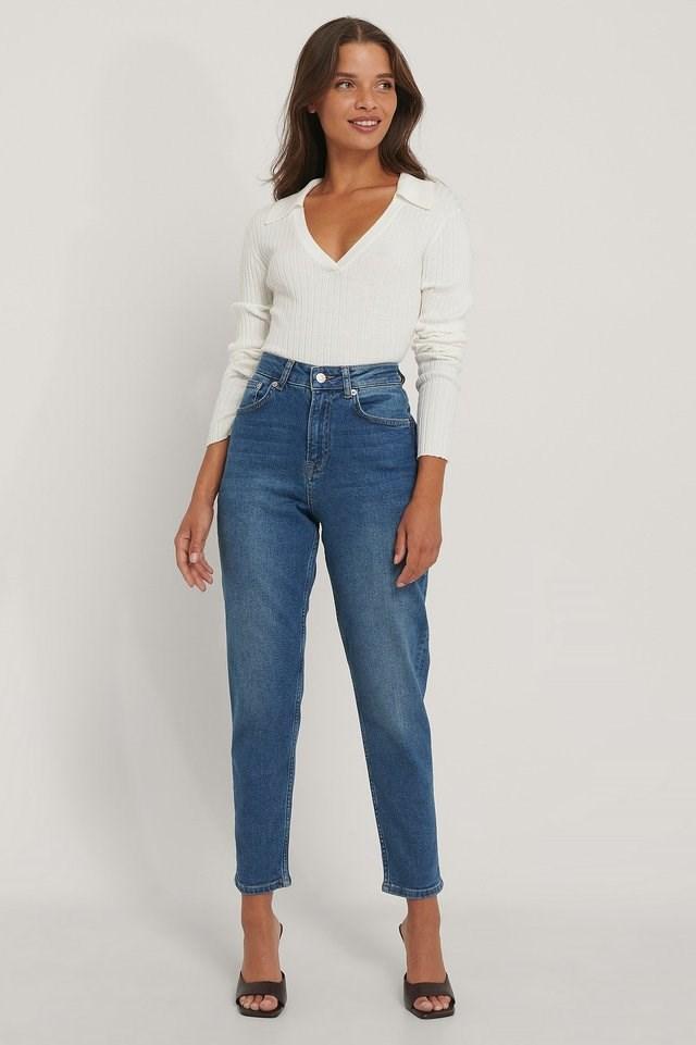 Comfort Mom Jeans.