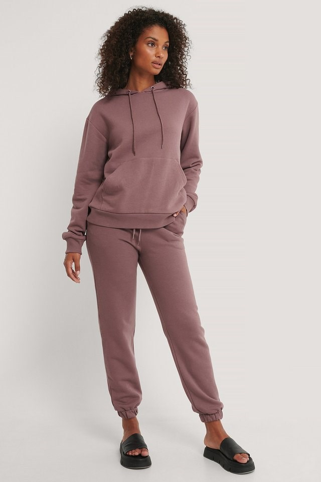 Organic Brushed Hoodie Outfit.