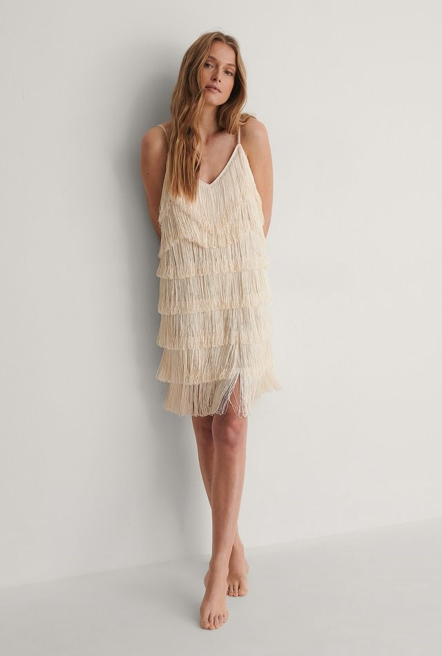 Fringe Dress Outfit.