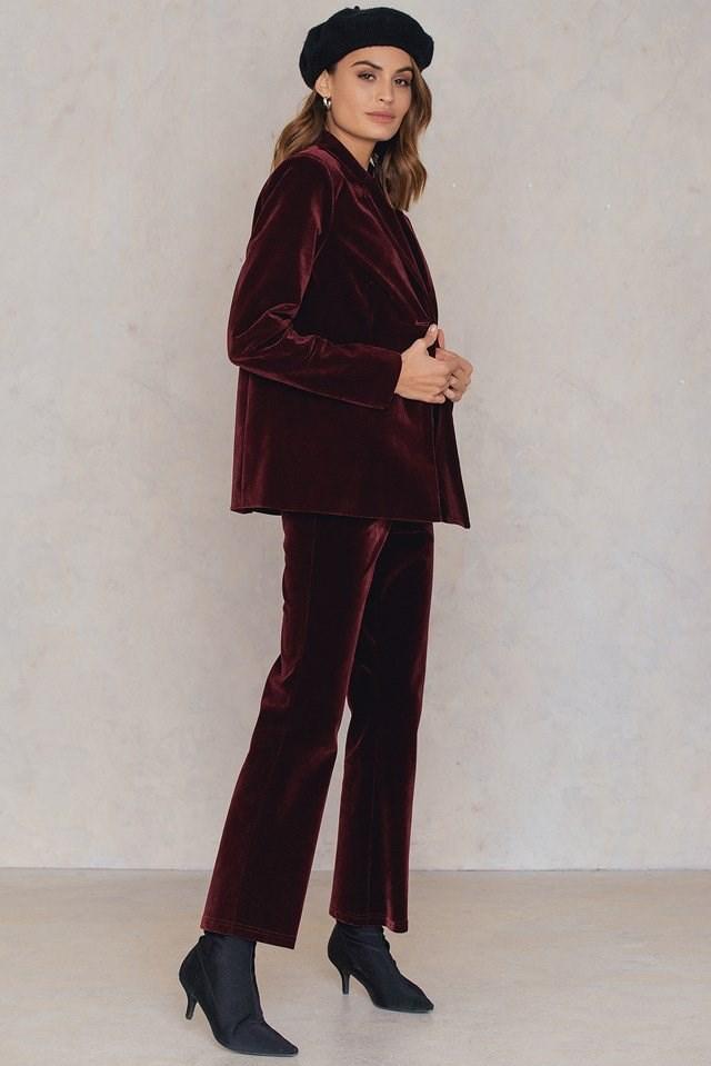 Velvet Suit Outfit