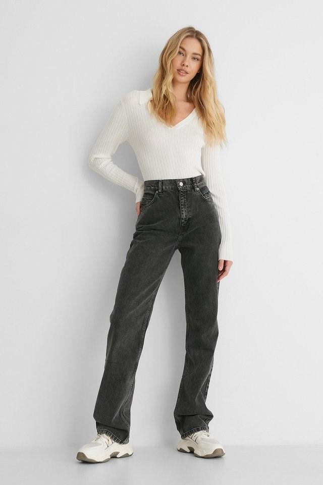 Urbanita Jeans Grey Outfit.