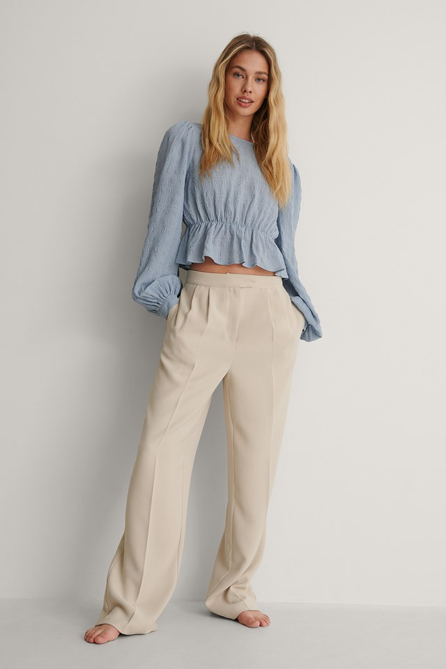 Structured Blouse Outfit.