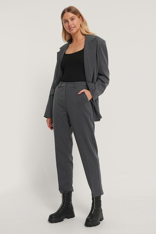 Square Collar Body Outfit.