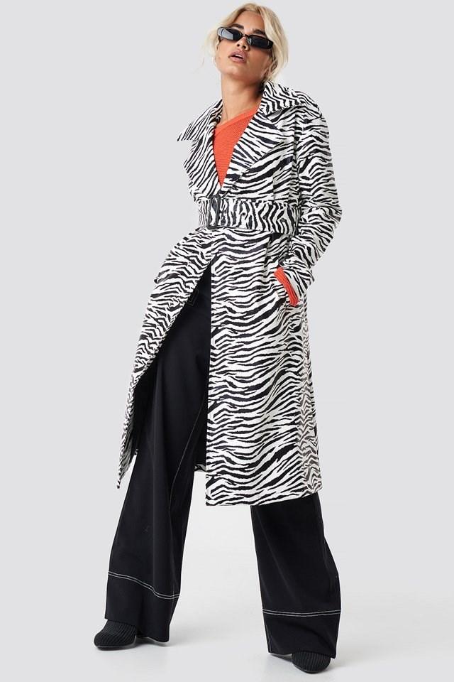 Zebra Coat Outfit
