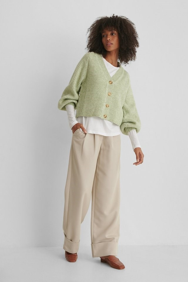 Merlo Cardigan Outfit.