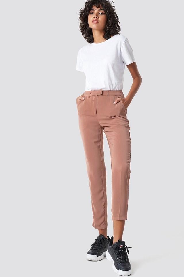 Shiny Suit Pants Outfit.