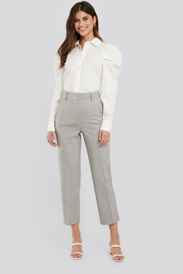 Tailored Fitted Suit Pants Outfit.