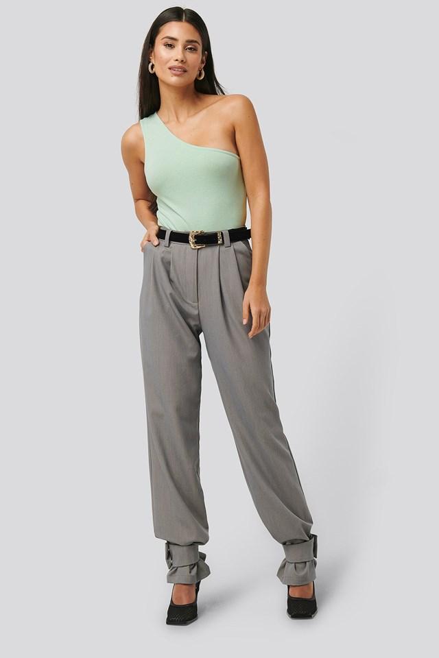 Asymmetric Jersey Body Outfit.