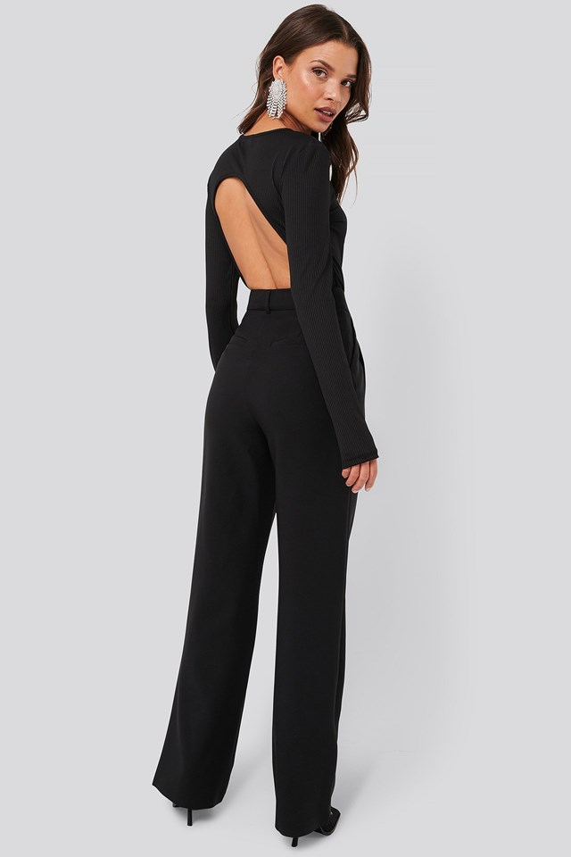 Open Back Body Outfit.