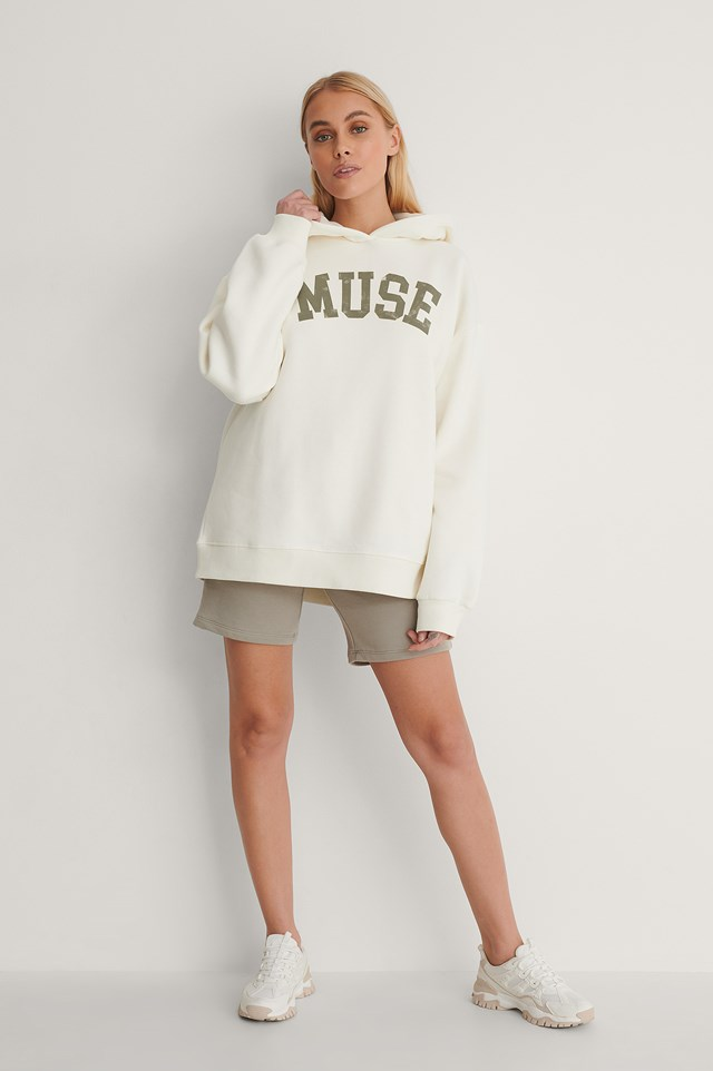 Muse Oversized Printed Hoodie Outfit.
