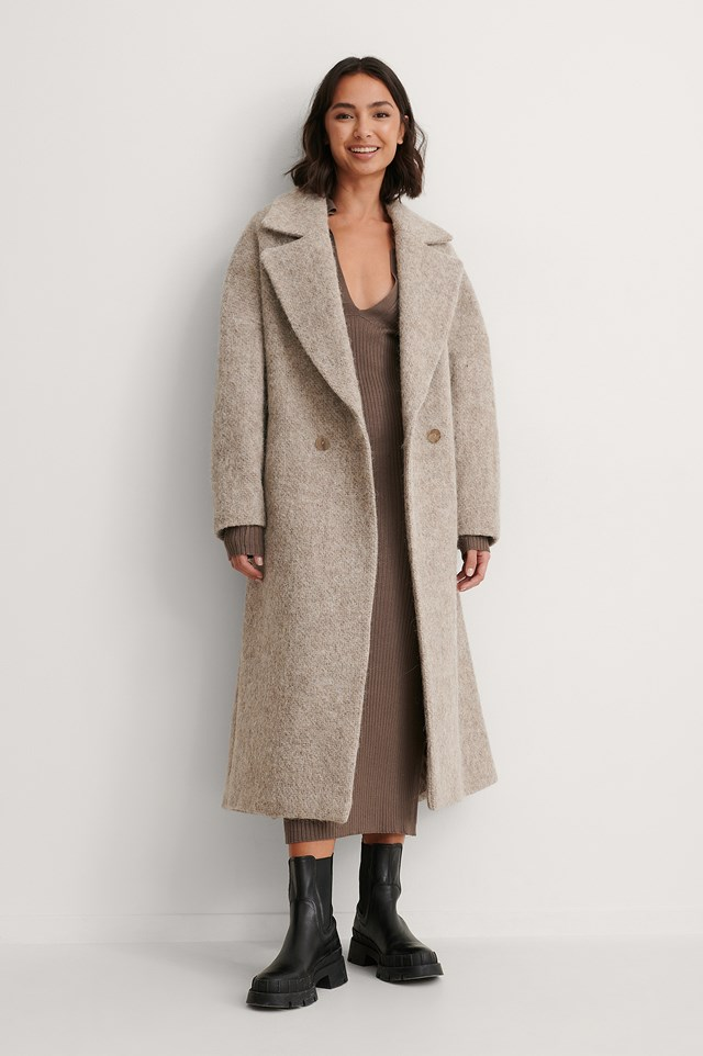 Gofre Coat Outfit.