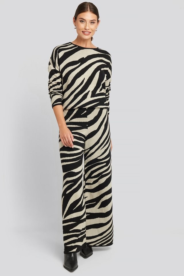 Lounge Wide Leg Pants Outfit.