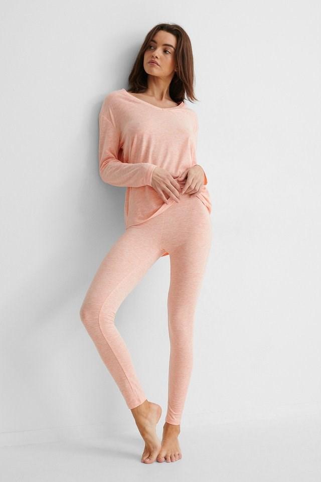 Loungewear Cotton Set Outfit.