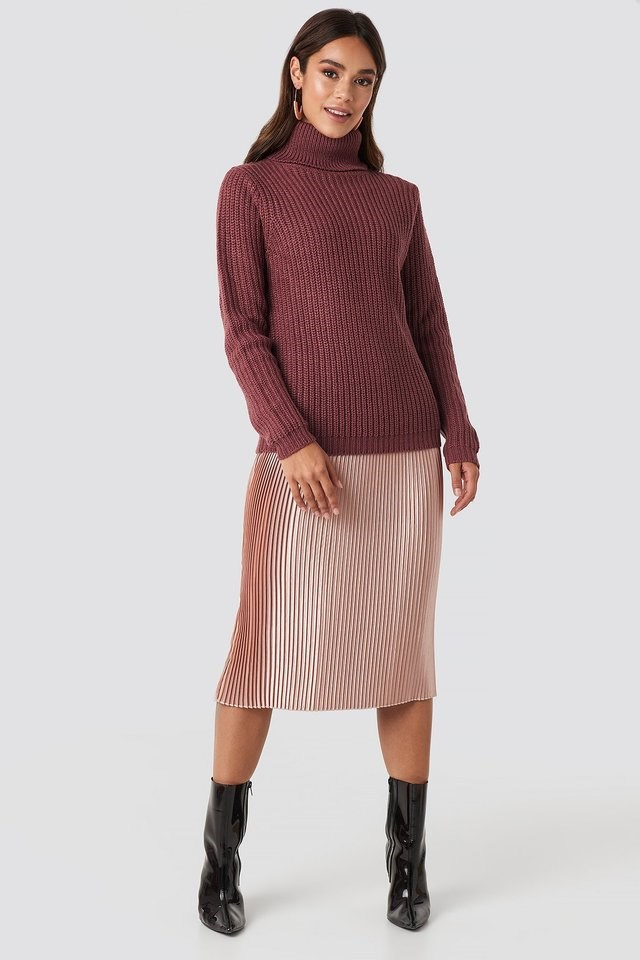 Tinelle Rollneck Knit Outfit.