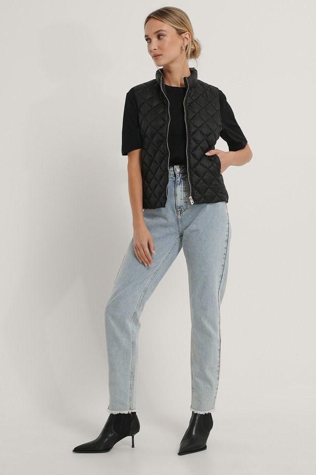Waistcoat Vest Black Outfit.