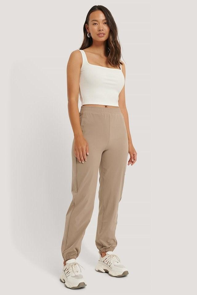 Windbreaker Pants Outfit.