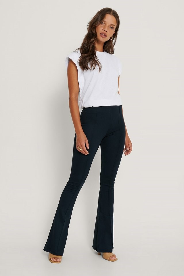 Flared Trousers Outfit.