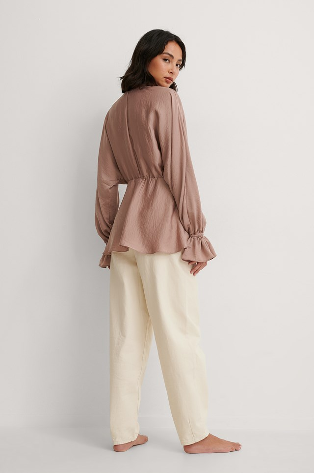 Flowy Blouse Outfit!
