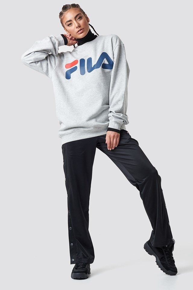Layered FILA Outfit