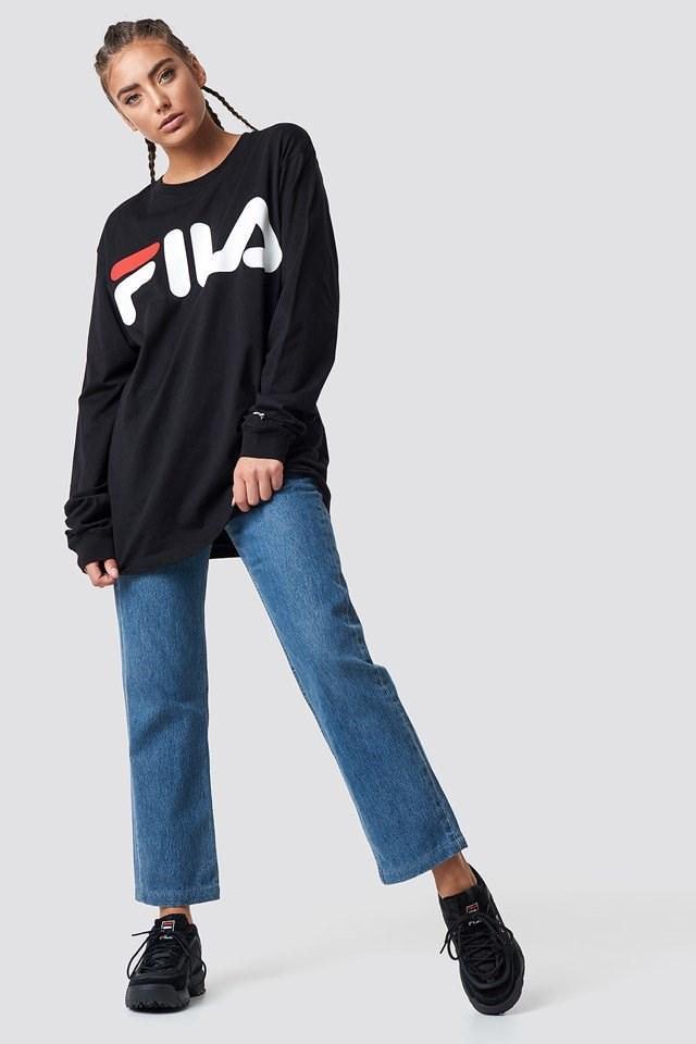 FILA X Denim Outfit