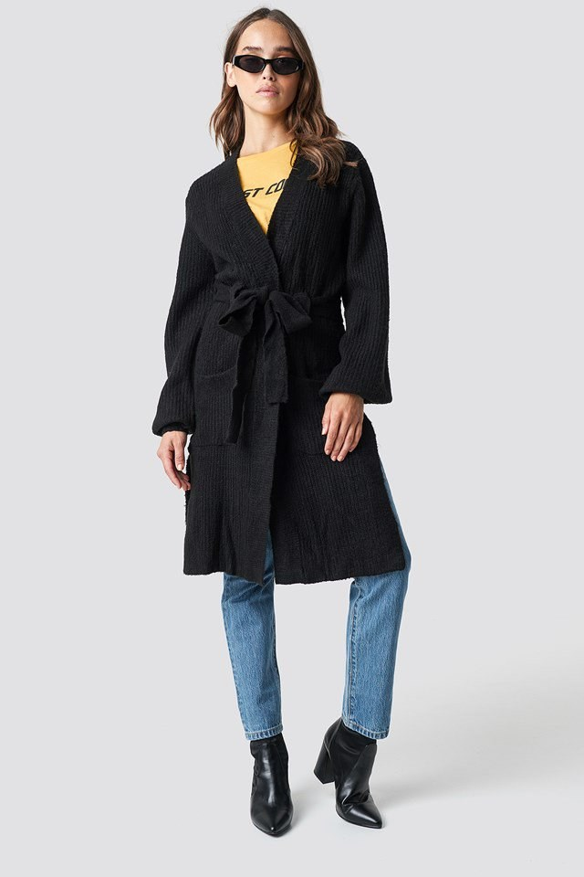 Cardigan X Denim Outfit
