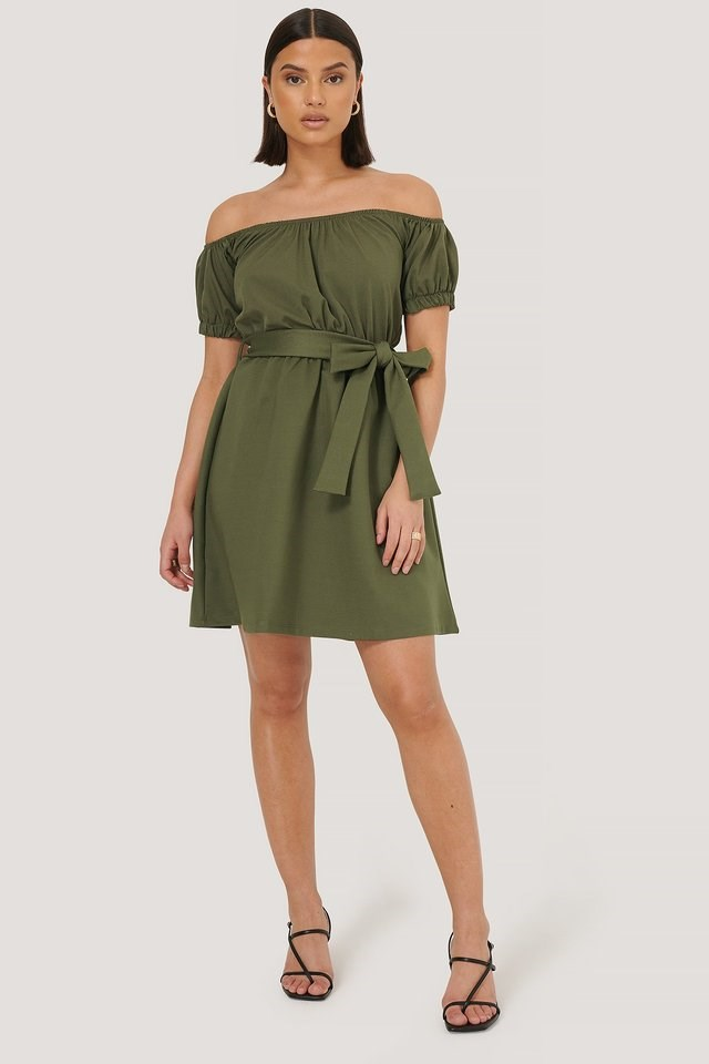 Sasha Mini Dress Green.