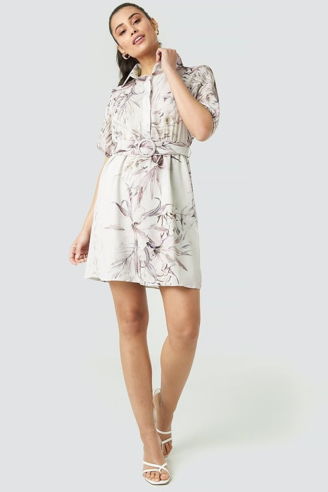 Yol Linking Detailed Dress Outfit.