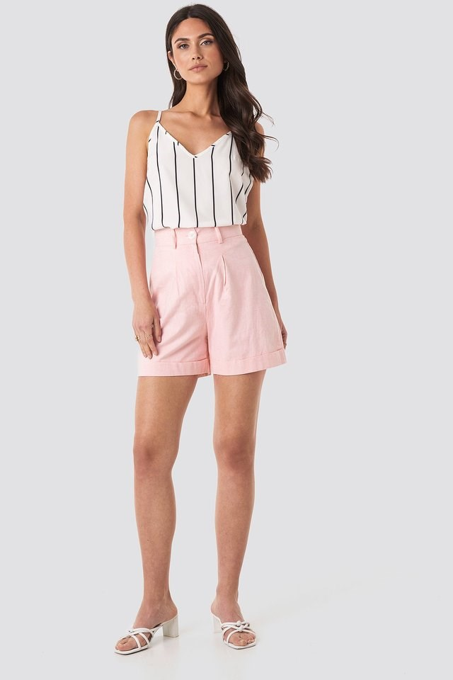 Cami Shift Top Outfit.