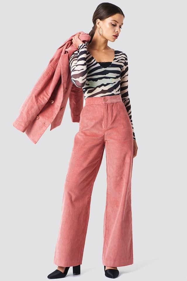 Corduroy Suit Pants