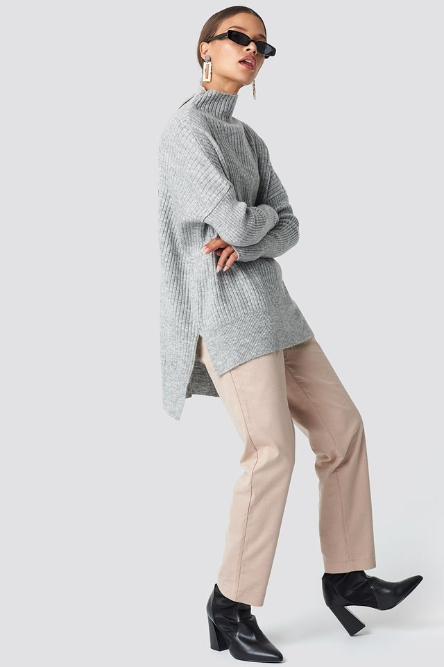 Casual Neutral X Knit Outfit