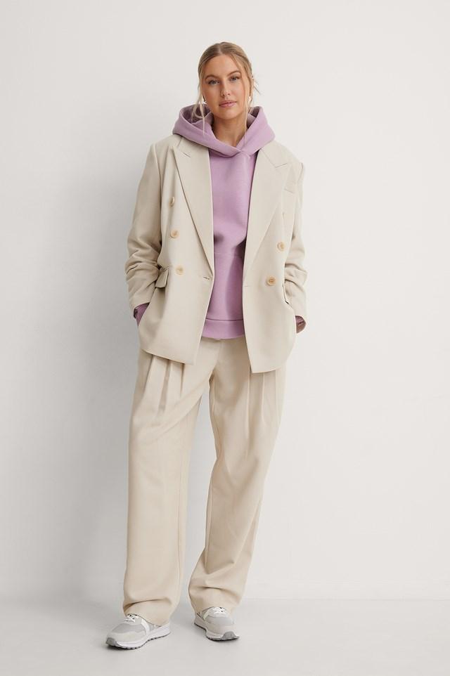 Sand Twill Suit Pants