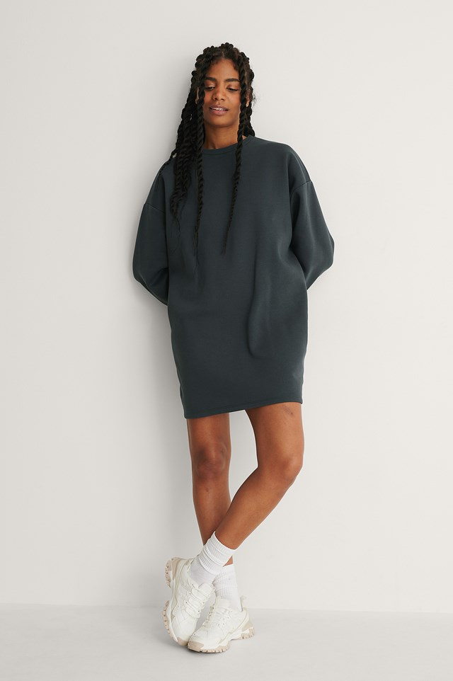 Organic Oversized Sweatshirt Dress
