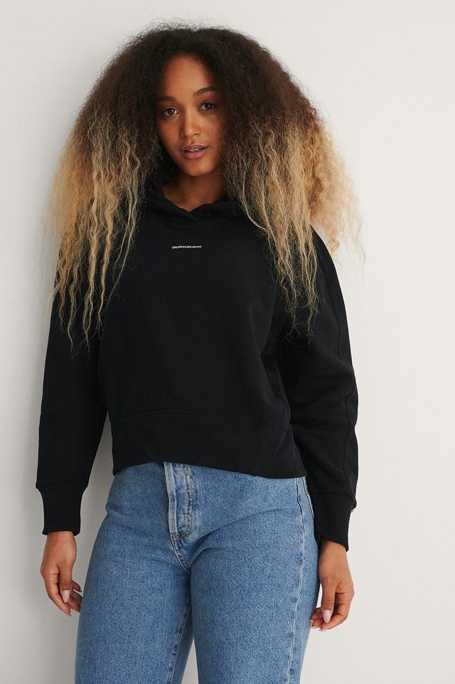 Calvin Klien micro branding hoodie
