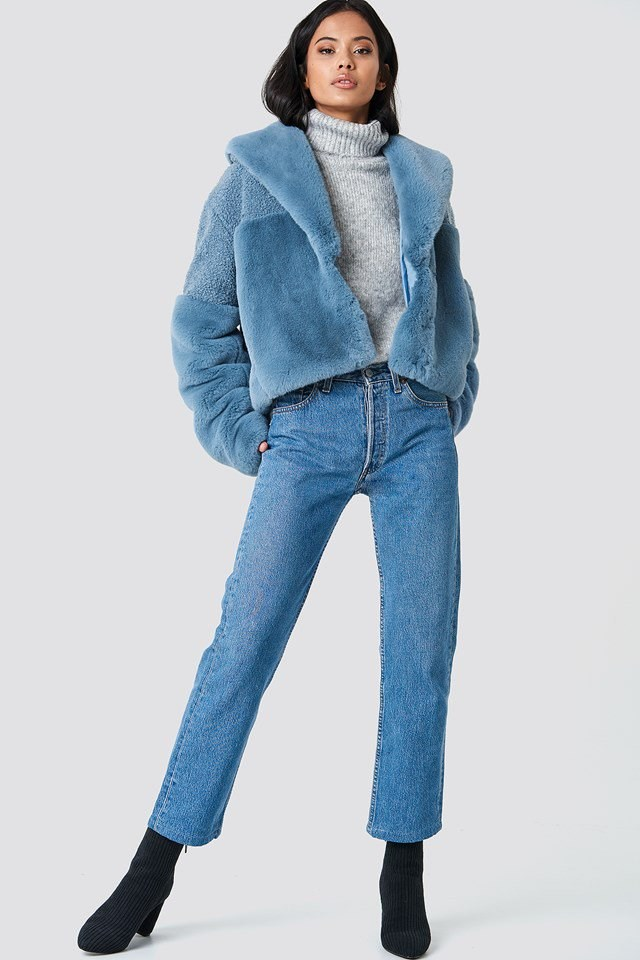 Cozy Jacket and Denim Outfit