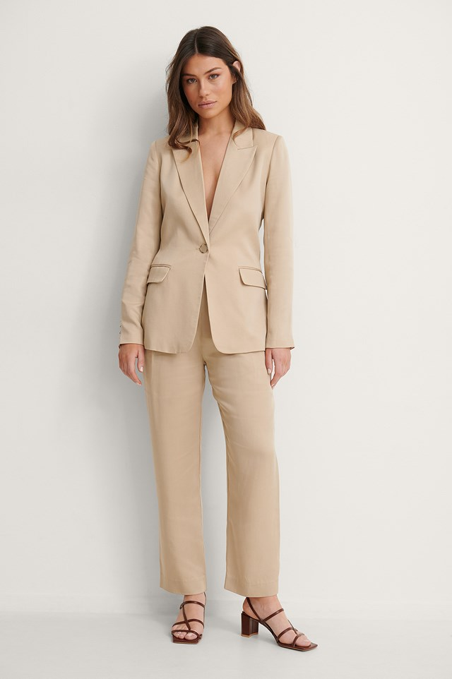 Lyocell Blazer Outfit