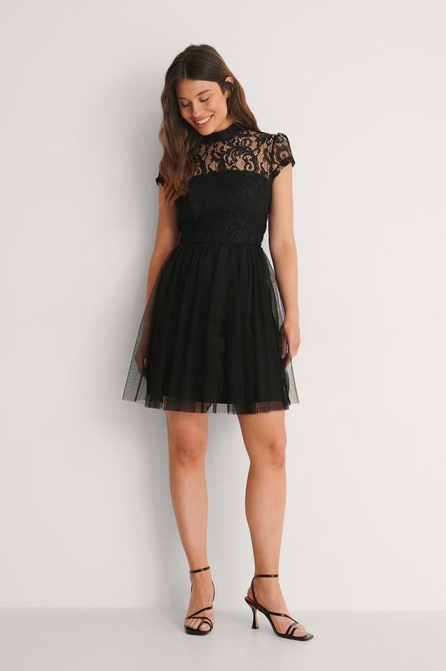 Black Carrie Dress