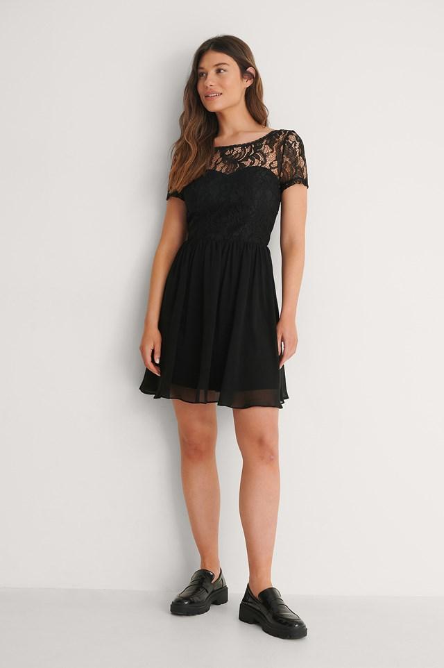 Black Leonie Dress