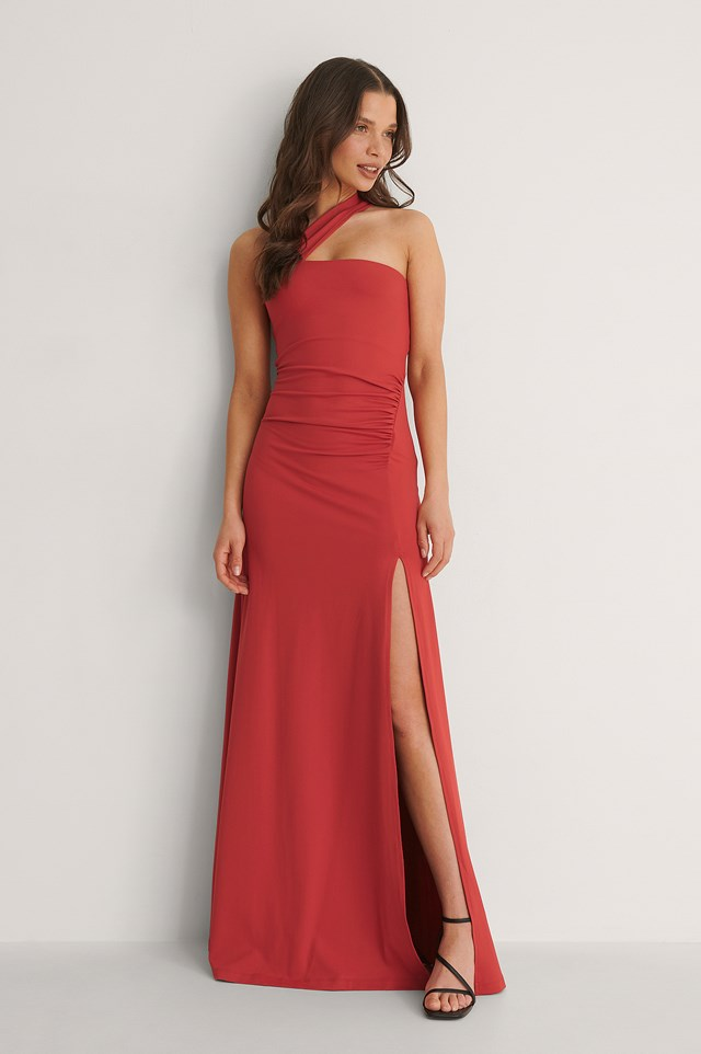 Bandeau Detailed Dress Outfit