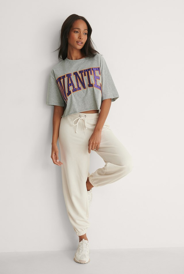 Wanted Tee Outfit.