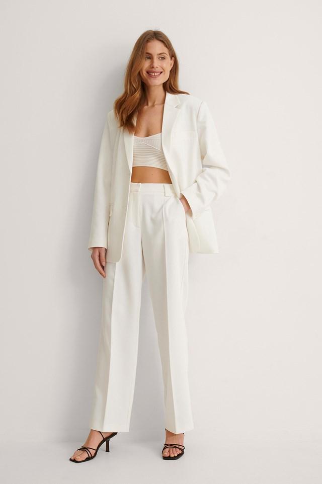 Twill Suit Pants