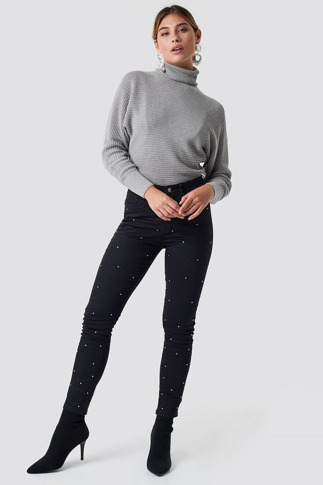 Pearled Knit Outfit