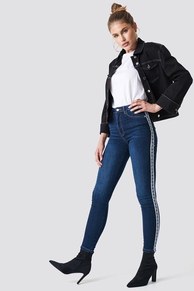 Denim Black & Blue Outfit.